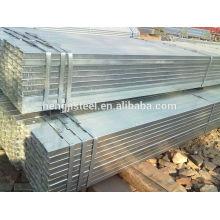 Precio de tubería de hierro cuadrado galvanizado