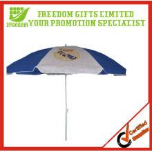 Windproof Rahmen im Freien Anti-UV-Sonnenschirm