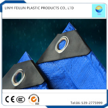 Blue High Quality Waterproof Materials PE Tarp for Tent
