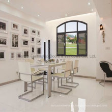 Feelingtop Tilt-Turn Decorative Casement Aluminium Window (FT-W135)