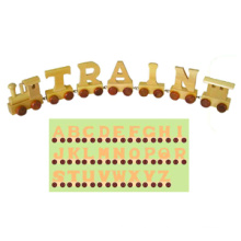 Wooden Toy Train Alphabet (28PCS) (80095)