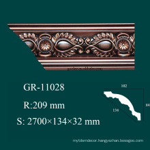 modern ceiling decor products foam molding with fireproof and high density