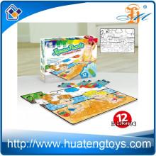 2015 Neues Produkt DIY Graffiti Puzzlespiel, Ausbildung paiting Puzzlespielproduktion für Kinder h162193