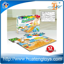 2015 New product DIY graffiti puzzle,education paiting jigsaw puzzle production for children h162193