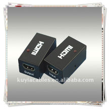 HDMI Repeater for supporting the HDMI Signal long transmitting distance by amplifying the HDMI differential signal