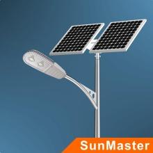 Luz de calle solar con CE, RoHS, FCC, aprobación de la UL