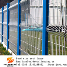Cheap kindergarten playground steel mesh fences supermarket park security fence edges fashion building fences