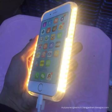 Cas de la Chine fournisseur LED d'éclairage pour l'iPhone 6