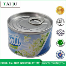 Custiom Iron Can Gel Air Freshener and Marine Flavor Jasmine Lavender Air Freshener
