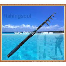 TSR002 venta caliente fibra de vidrio Telespin cañas de pescar