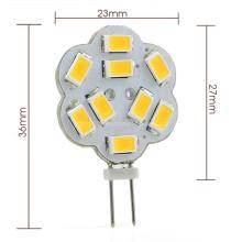 Nuevo 12V DC G4 3W LED Luz 9x 5730 SMD LED Bombilla de luz para coche
