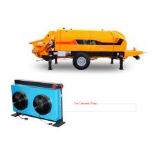 Intercambiador de calor para vehículo bomba de hormigón