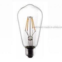 LED Filament St64 Bulb 4W 3000k