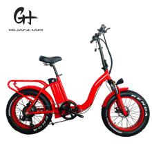1000W 8fun Big Motor Folding 20inch Ce Fat Tire Electric Bike