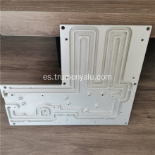 Placa intercambiadora de calor de aluminio para estación base 5G