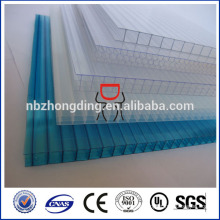 10mm triple wall polycarbonate sheet/10mm 3-wall polycarbonate sheet
