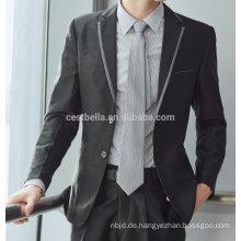 Neueste Design-Männer Hochzeit Anzüge für den Verkauf elegant maßgeschneiderte Herren Blazer 2017 Top-Qualität Männer Anzüge