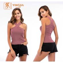 Womens Halter Sleeveless Vest Ladies Sexy Casual Vest