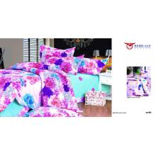 Home textile fabrics with soft hand feeling