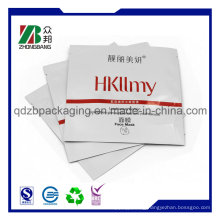 Three Side Sealed Aluminium Foil Plastic Packaging Cosmetic Mask Bags