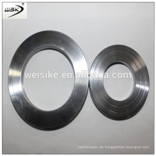 Weiske Structured metal ss flache ovale Ringdichtung