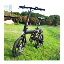 Wholesale High Quality Hot Selling  foldable Electric City Bike Mini 16 Inch Folding Ebike with battery 250w