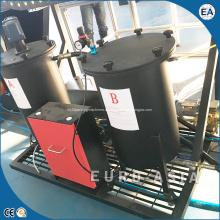 Машина для запечатывания ПУ двери электрического распределительного щита