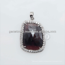 Best Design in Semi Precious Gemstone Pendant Necklace Jewelries for Best Gift