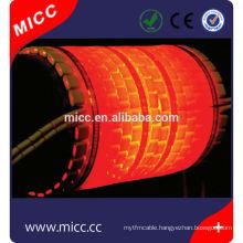 china electric alumina flexible ceramic heater plate
