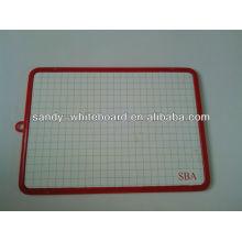 Magnetic mini plastic whiteboard,kids whiteboard XD-CH082-2