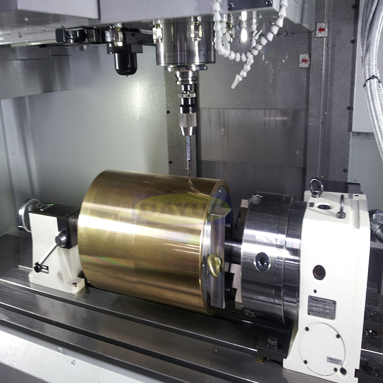 Five Axis Milling Machining Of Hydraulic Parts