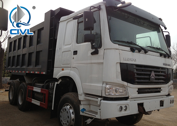 White 6x4 Tipper Truck 2