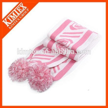 wholesale custom acrylic knit women winter scarf
