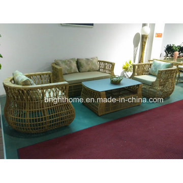Lounge Outdoor Furniture Plastic Rattan Outdoor Furniture Sofa Set