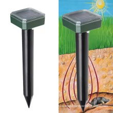 2/4pcs Solar Power Ultrasonic Garden Deterrent Repeller Animal Bird Cat Scarer Control Solar Rodent Repellent Outdoor Lamp Garde