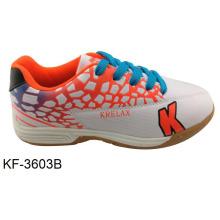 Indoor Soccer Training Shoes com TPR sola para jovens