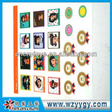 Etiquetas engomadas del teléfono lujo alta calidad para la decoración