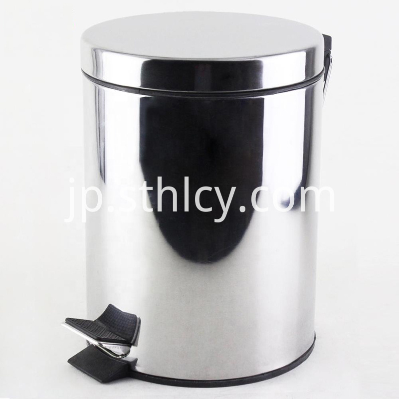 Sus 410 Stainless Steel Waste Bin