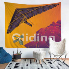 Paragliding Pattern 3D Printed Tapestry