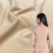 super soft elasticity shirt underwear modal spandex jersey stretch fabric for high end warm clothings