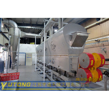Vibrating Fluid Bed Dryer for Foodstuff