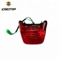 Motorcycle tail light for CT100 rear LED lamp lighting system
