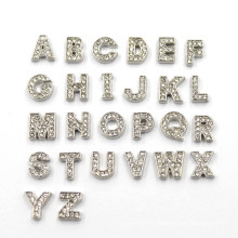 Crystal Letter Charms DIY a Z Alphabet Floating Charms
