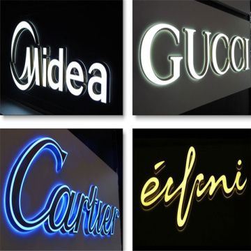 CNC Router Klipp LED Embedded Acrylic Letters