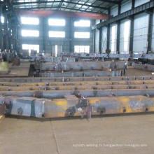 Soudage en acier lourd pour les pièces de machines de construction
