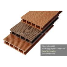 Panneaux de placage en composite en plastique bois WPC Eco Friendly / Decking