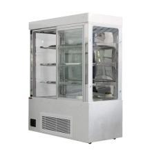 Premium Glastür Kühlschrank Glas Vitrinen Indien