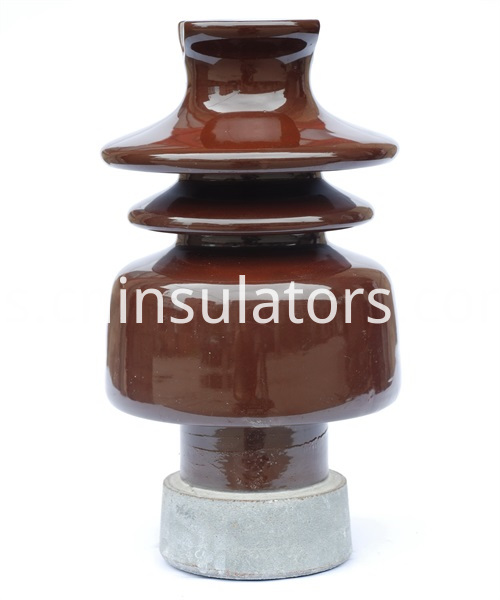 Pin post porcelain insulator 11006