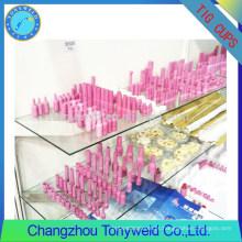 TIG soldando injectores de alumínio bico cerâmico