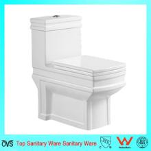 Venta caliente Washdown One-Piece Toilet para el mercado de Oriente Medio